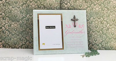 Glass Godmother Photo Frame - Great Godmother Gift