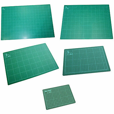 A1 A2 A3 A4 A5 Cutting Mat Non Slip Printed Grid Lines Knife Board Crafts Models