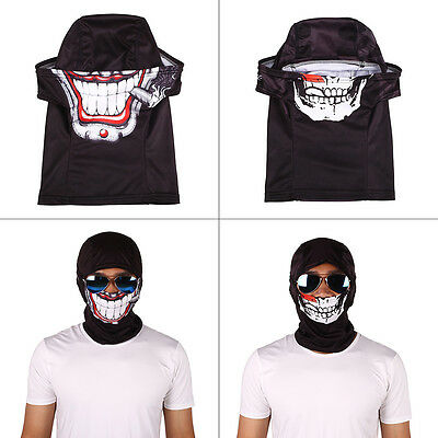 Sport Motorcycle Cycling Skiing Helmet Shield Face Mask Armour Headband