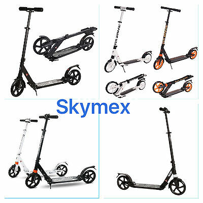 New Urban Adult Rapid Folding Town Street Commuter Scooter Folding Suspension