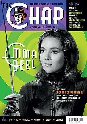 The Chap Magazine. Issue 86 EMMA PEEL/Doctor of Dandyism  May 2016
