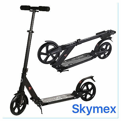 Sport Urban Adult Rapid Folding Town Street Commuter Scooter Folding Suspension