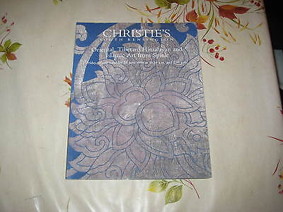 Christies Catalogue J98Oriental Chinese Tibetan Himalayan Islamic Art From Spink
