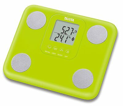 Tanita Fat Mass Green Weighing Scales Innerscan Body Composition Monitor BC730/G