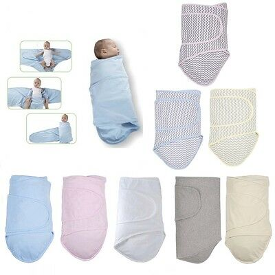 Miracle Blanket Easy Baby Swaddle Blanket for Better Sleep - Birth to 4 months