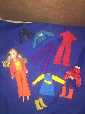 """Vintage THE WORLD OF LOVE 1971 """"Love"""" Doll with Assorted clothes & accessories"""
