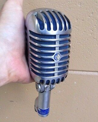 Vintage 1950s Stromberg Carlson MC-41 dynamic microphone Shure 55 S Elvis  RARE!