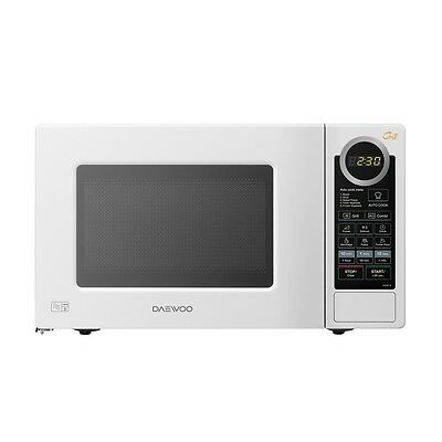 Daewoo KOG6L7B 20Ltr - 800w Microwave Oven & with Grill & 8 Cook Menu -Brand New