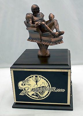 Fantasy Football Trophy 18 Year Armchair Qb -  Free Engraving!  Ships In 1 Day!