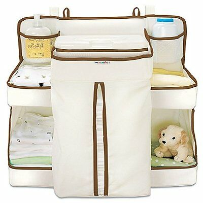 Nappy Change Organiser Hanging Baby Storage Changing Accessories 8 Handy Areas