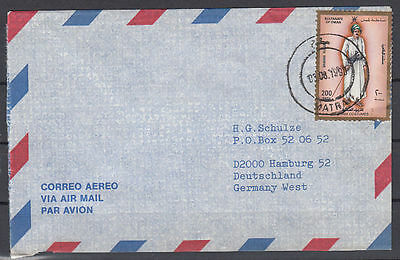1990 Oman Cover to Germany, Costumes Trachten [cm788]