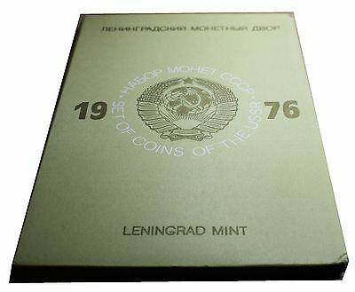 1976 Set of Coins of The USSR Leningrad Mint