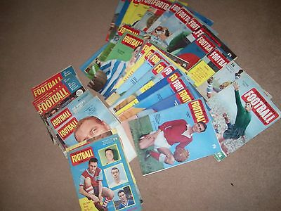 Football Monthly (Charles Buchan) 32 Issues