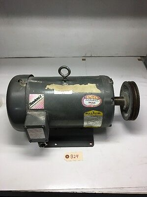 Baldor 7.5 HP Industrial Heavy Duty Electric Motor M3709T *Fast Shipping*