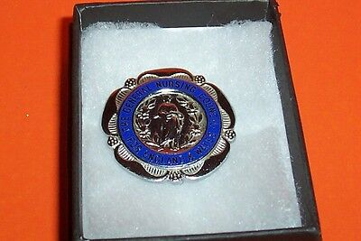 General Nursing Council For England & Wales E.m.ranger Boxed Hallmarked Silver