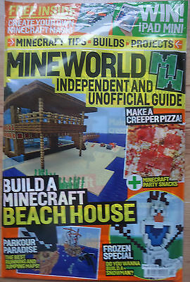 Mineworld Magazine Issue 9 Sealed With  Free Gifts 2016 RRP £3.99