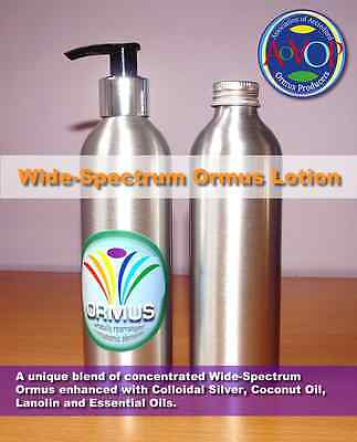 NEW PRODUCT: WIDE-SPECTRUM ORMUS LOTION 250 ml - Full AoAOP member