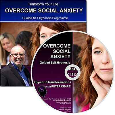 Overcome Social Anxiety Hypnosis CD - Hypnotherapy session to alleviate the pain