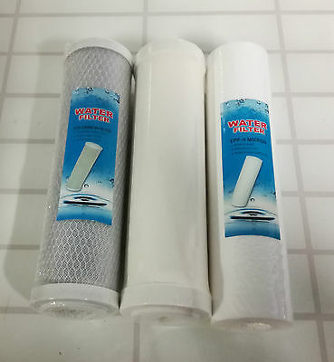 3 Stage Undersink Ceramic Drinking Water Filter System Replacement Filters