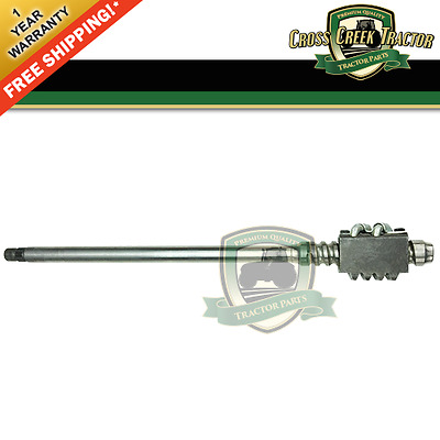 8N3575B NEW Ford Tractor Worm Shaft, Manual Steering 8N LATE 1/1950-12/1952