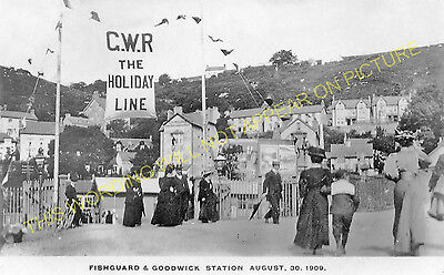Fishguard & Goodwick Railway Station Photo. Letterston and Clarbeston Lines. (4)