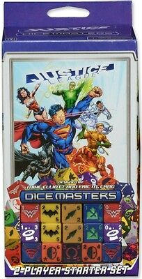 DC Comics Dice Masters Justice League Starter Set New Sealed