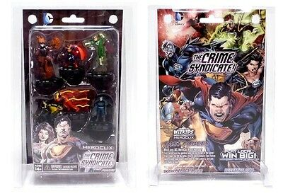 DC Comics Heroclix The Crime Syndicate Fast Forces Set of 6 Figures New Sealed