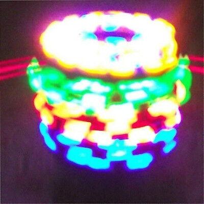 Colorful Magic Top Gyro Spinner Laser LED Music Flash Light Kids Party Toy Gift