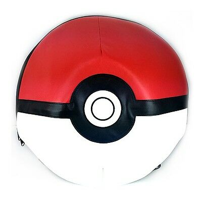 """Pokemon 3D Dome Shpaed 16"""" Large Size School Backpack : Pokeball"""