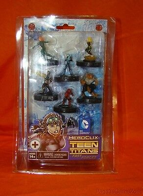 DC Comics Heroclix Teen Titans Fast Forces Set of 6 Figures New Sealed