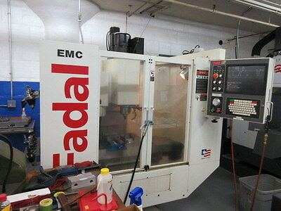 Fadal EMC CNC Vertical Machining Center w/ Rigid Tapping