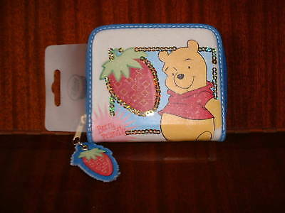 Disney Store Winnie The Pooh Strawberry Berry Friendly Purse New!
