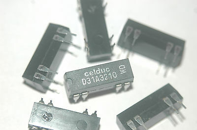 CELDUC D31A3210 8-Pin Dip Obsolete Reed Relay New Parts Lot Quantity-10