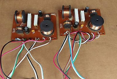 vtg pioneer CS-G911 4 way speakers crossover assembly/drivers wires,repair parts