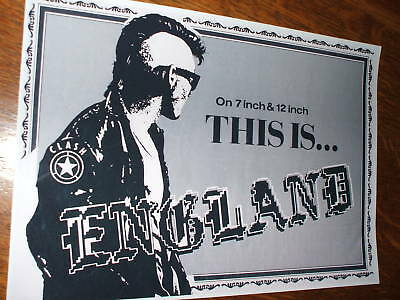 The Clash 'This Is England' Poster