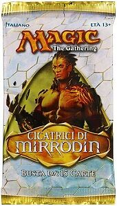 """Magic the Gathering Bustina/Booster Pack """"Cicatrici di Mirrodin/Scars of Mirr..."""