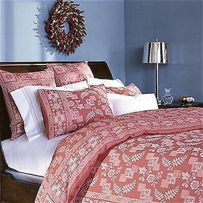 MIP Martha Stewart by Mail Turkey Red King Duvet Cover, Retired Collectible