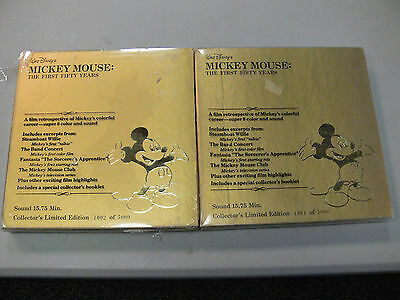 """Disney""""s Mickey Mouse: The First Fifty Years Super 8 Color  and Sound"""