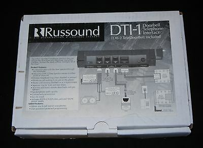 New RUSSOUND Doorbell Telephone Interface Module for House DTI-1