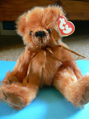 TY Attic Treasures Collection. Clay The Bear With Tags.