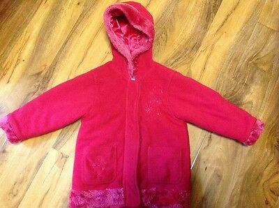Girls Red Coat/Jacket Age 2-3 years