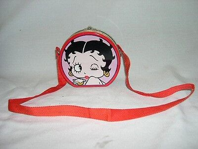 Betty Boop  Tin / Case  With Shoulder Strap