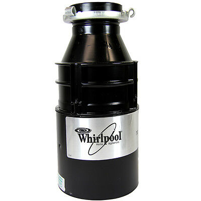 WHIRLPOOL AMB782 1/2 HP BY INSINKERATOR DISPOSER 220 Volts 50 Hz EXPORT ONLY