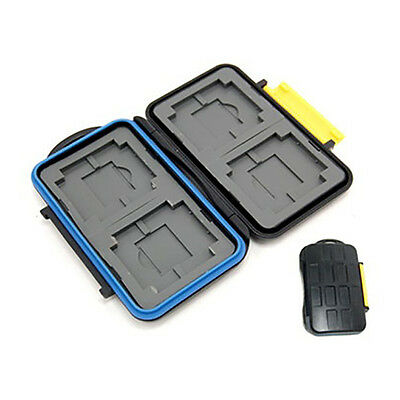 Pro Waterproof Memory Card Case Holder MC-3 for SD XD CF Cards Memory Stick