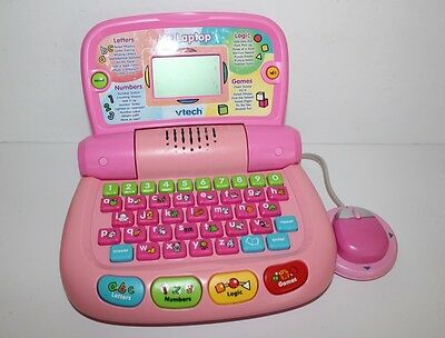 Vtech My Laptop Computer Game System Console Educational Toy