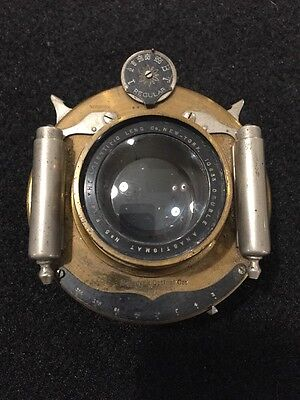 Antique Scientific Lens Co. Double Anastigmat Lens Pat. 1900-1901