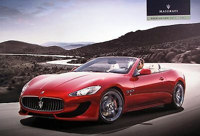 2013 Maserati GranTurismo Convertible new vehicle brochure