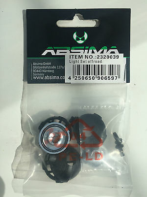 Absima 2320039 Black Off Road Light Set NIP