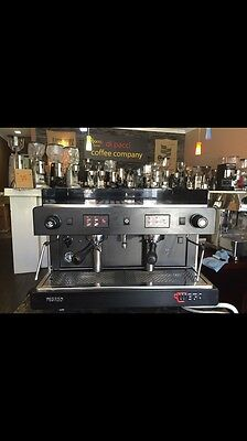 Brand New Wega Two Group High Cup Commercial Coffee Machine