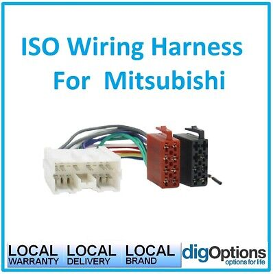 !ISO Wiring Harness Loom For Mitsubishi Colt Magna Mirage Nimbus Outlander Pajer